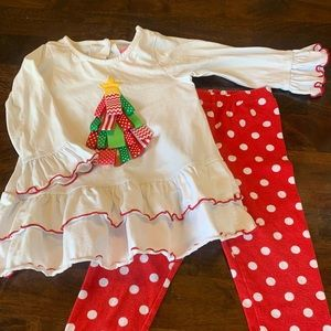 Other - Toddler Girls Christmas Outfit